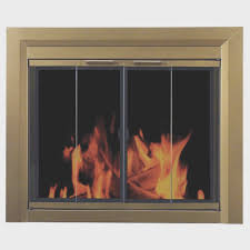 fireplace top brass fireplace screens style home design simple
