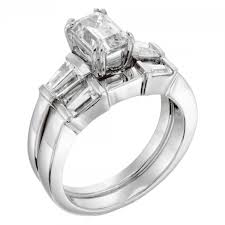 emerald cut engagement rings engagement rings solitare accent lorelai engagement ring