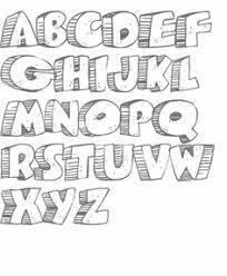 resultado de imagen para moldes de letras moldes de letras