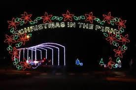 holiday light displays around the kansas and oklahoma region the