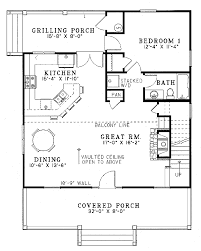 farmhouse style house plan 2 beds 2 00 baths 1400 sq ft plan 17