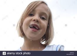 Missing Teeth Meme - six year old smiling with large gap missing front teeth sky in
