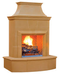 shop american fyre designs petite cordova outdoor gas fireplace
