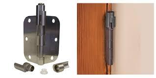 Adjustable Hinges For Exterior Doors Door Saver 3 Bumper Less Adjustable Hinge Pin Door Stop