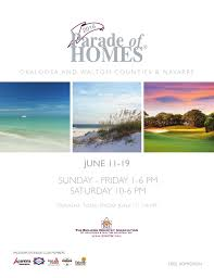 parade of homes 2016 by emerald coast marketing u0026 publishing issuu