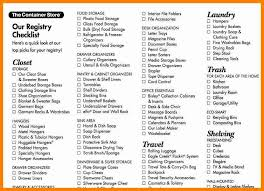 wedding gift registry list 10 wedding registry checklist how to make a cv