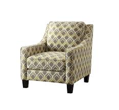 Grey Patterned Accent Chair Yellow Accent Chair Design
