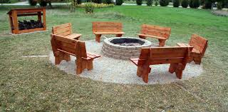 fire pit benches ship design