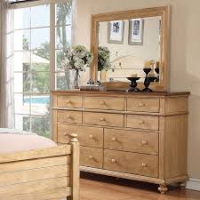 Acacia Bedroom Furniture by Furniture Of America Tarpa Collection 6 Drawer Dresser Weathered