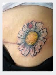 Ladybug And Flower Tattoos - daisy flower n ladybug tattoo image tattoos book