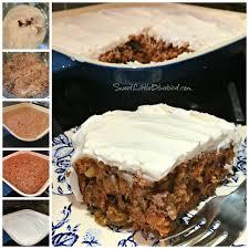 sweet little bluebird crazy carrot cake no eggs milk or butter