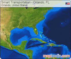 satellite map of florida smart transportation orlando fl orlando satellite map