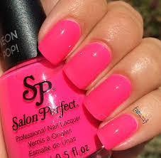 my nail polish obsession salon perfect neon pop partial