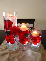 floating candle centerpiece ideas home lighting design ideas