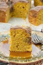 light pumpkin dessert recipes easy buttermilk pumpkin coffee cake with brown sugar streusel recipe