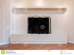 white fireplace stock photo image 48232097