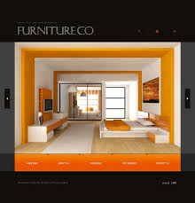website template 16097 furniture company design custom website