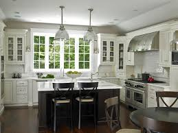 tiles backsplash white cabinets with grey countertops spray