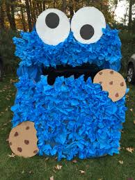 halloween cookie monster costume cookie monster trunk or treat idea my creations pinterest