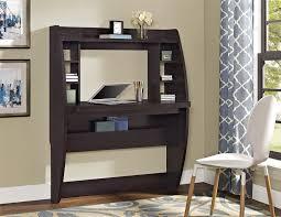 wall mounted desk amazon amazon com altra jace wall mounted desk espresso kitchen dining