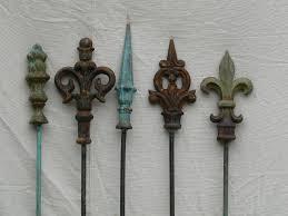 j pedersen home and garden gift decor french finial stake