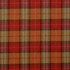 curtains in woodford plaid fabric brick wine dhigwp301