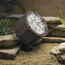 Kichler Led Landscape Lighting by Peachtree City Landscape Lighting Repair Installation