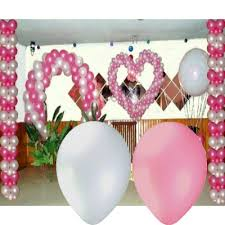 coffret mariage coffret décoration ballon mariage blanc et décoration