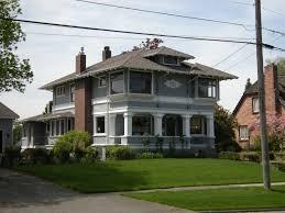 four square house plans snohomish historic district places i love pinterest