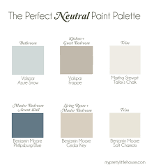inspiring interior paint color ideas home bunch