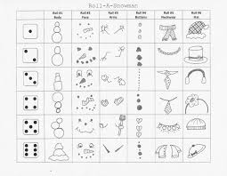 Symmetry Worksheets Art Room 104 Roll A Snowman Activity