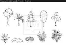 tree sketch for garden decorate image yayimages com