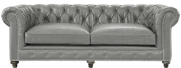 Grey Leather Chesterfield Sofa Vintage Leather Chesterfield Aristocrat Sofa Set Vintage Sofas