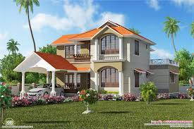 indian villa plans cool 1 bedroom indian villa elevation kerala
