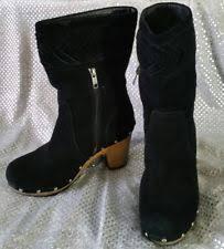 womens mid calf boots australia ugg australia zip block heel mid calf boots for ebay