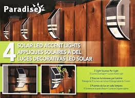 solar deck accent lights paradise northern solar deck led accent light with 10 lumen
