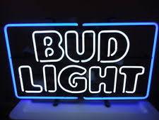 bud light neon light beer signs in brand coors drink type lager weissbeer ebay