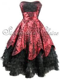 gothic wedding gothic black u0026 red wedding dress 2048439 weddbook