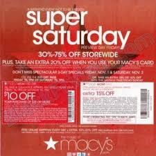 macy s black friday sale macy u0027s super saturday sale