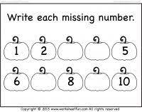 62 best missing numbers images on pinterest printable worksheets