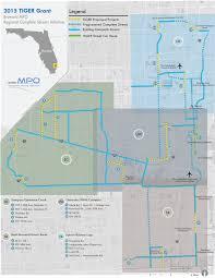 Pompano Beach Florida Map by Broward Metropolitan Planning Organization Mpo Tiger Grant