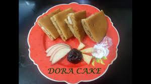 eggless healthy oats and wheat dora cake dora cake how to make