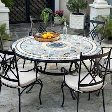 tile top patio table and chairs tiled table garden furniture mosaic tile top patio table how to