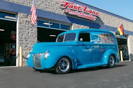 Vintage Ford Truck Apparel - 1940 ford panel truck fast lane classic cars