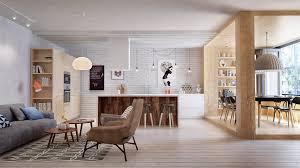 scandinavian minimalism meets mid century interior