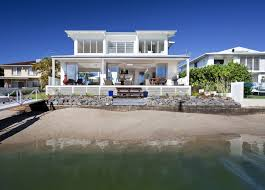 water front house plans modern ideas waterfront home designs airy beachfront with
