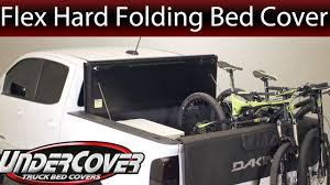 Folding Bed Cover Undercover Flex L Tri Folding Bed Cover Overview