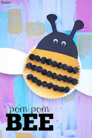 paper plate bee craft easy project for kids darice