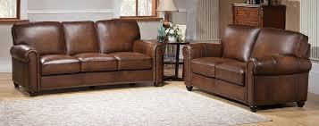 amax aspen 2 piece leather living room set u0026 reviews wayfair