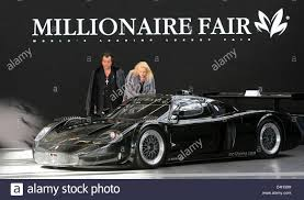 maserati mc12 2017 visitors to the trade fair u0027millionaire fair u0027 eye a maserati mc12